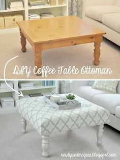 Home Decor Ideas | Easy DIY Furniture Projects | DIY Coffee Table Makeover Ideas | DIY Projects and Crafts by DIY JOY at http://diyjoy.com/diy-home-decor-coffee-table-ideas