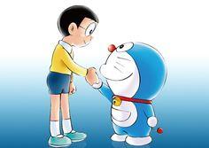 """Nobita kun"" and ""Doraemon"""