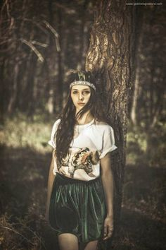 51 Forest Fashion Shoots - From Forest Goddess Editorials to Softly Cinematic Shoots (TOPLIST)