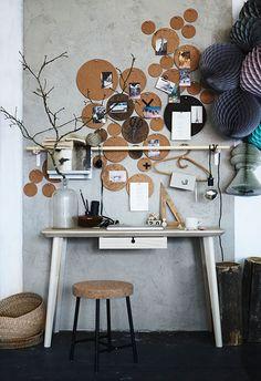 Een creatieve werkruimte