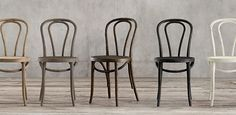 RH's Woven, Wood & Metal Chair Collections