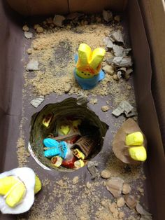 Peeps Cave-in #expressyourpeepsonality