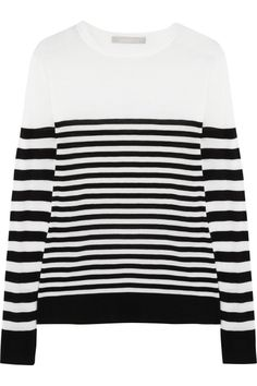 Jason Wu|Striped wool sweater|NET-A-PORTER.COM