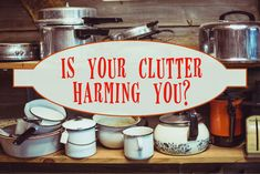 Is your clutter harming you? It most likely is in ways that you may not be aware of. Professional organizer, Daria Harvey, has plenty to say about clutter, how it impacts your life, and what you need to do to start decluttering in this guest blog post on the Organize-It Blog.