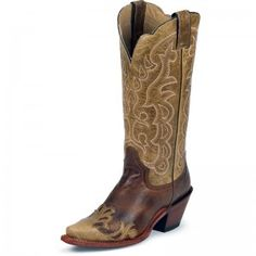 Justin Ladies Moka Damiana Boot. My first real boots, bought in Fort Worth of course!