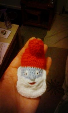 Papa Smurf Crochet