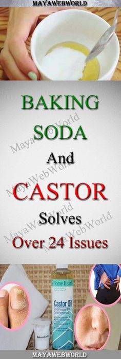 Baking Soda And Castor Solves Over 24 Issues – MayaWebWorld