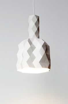 Faceture lightshade - Phil Cuttance