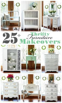 25+ Thrifty Furniture Makeovers | Confessions of a Serial Do-it-Yourselfer