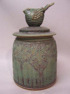 Bird Jar : Karen Steininger & Stephen Steininger : The Potters, Ltd.