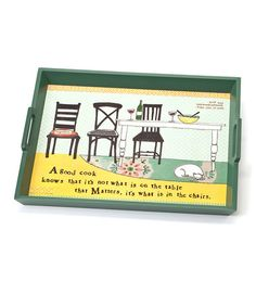 Take a look at this 'Good Cook' Serving Tray by DEMDACO on #zulily today!