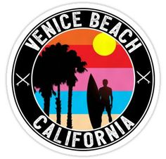 Surfing holidays is a surfing vlog with instructional surf videos, fails and big waves California Logo, Newport Beach California, Surf Logo, Retro, Surf Outfit, Ocean Beach, Beach Art, Stickers, Surfboard