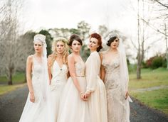 Wedding Inspiration From Gatsby to Bohemian at Spicers Clovelly Estate  Read more - http://www.stylemepretty.com/australia-weddings/2013/10/22/wedding-inspiration-from-gatsby-to-bohemian-at-spicers-clovelly-estate/