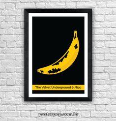 Poster Banana Pixel