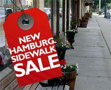 New Hamburg Sidewalk Sale Days August 15 - 18, 2012
