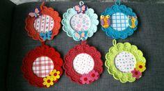 Crochet frames