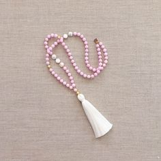 The Adore Tassel Necklace by LovesAffect on Etsy