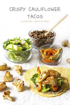 Crispy Cauliflower Tacos | Tex Mex Meal Plan | The Plant Philosophy