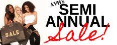 SEMI ANNUAL SALE – AVH All Virgin Hair, Eye Expressions, Mongolian Hair, Organic Argan Oil, Semi Annual Sale, Lash Glue, Split Ends, Damaged Hair, Natural Looks