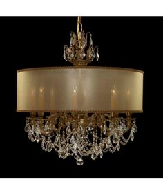 Chadelier With Shade Can T Get Enough Of Drum Lighting Fixtures Dining Room Pinterest Drums Chandeliers And Lights