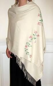 Easy ways to wear a shawl - for those who hesitate to wear a shawl these 3 easy ways to wear shawls pashmina will turn you into shawl lovers. Try it. http://yourselegantly.blogspot.in/2016/02/my-favorite-3-easy-styles-to-wear-shawl.html