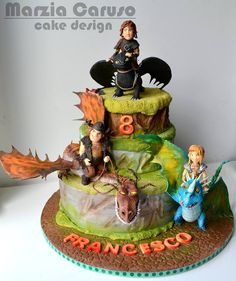 Cake Design Zola Predosa : 1000+ images about Cakes - Dinosaurs & Dragons on ...