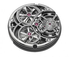 Armin Strom Tourbillon Skeleton Earth - Caliber 2