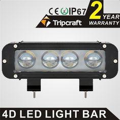 2016 new product ip67 waterpoof led light 9-70V 4pcs*10w 40w offroad light bar led driving light