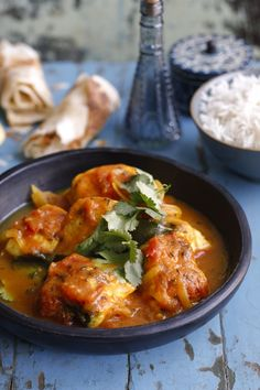 Simple fish curry