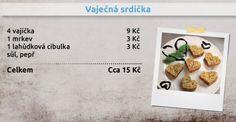 Recepty Ládi Hrušky - Vaječná srdíčka