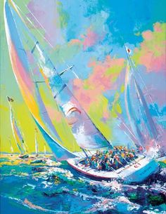Sailing by Malcolm Farley