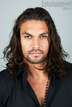 Jason Momoa - Khal Drogo.... I love me some Pacific Islander men!