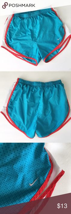 Nike Shorts Nike blue and red shorts. In very good condition.   ⭐️10% off 2+ bundle  ⭐️Size Small ⭐️Smoke free home  ⭐️No stains or flaws Nike Shorts