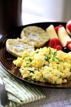 Super-eggy Scrambled Eggs | Scrambled Eggs, Eggs and Pesto