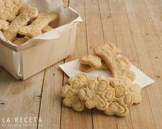 Galletas para perro de pollo y queso