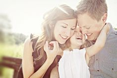 Adorable Family Photo Great For Toddlers