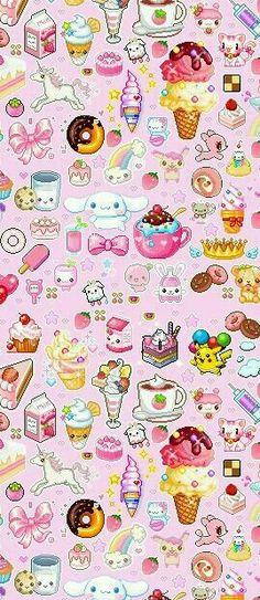 girly food wallpapers: Food Emoji Wallpaper - Google Search