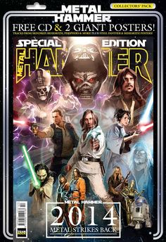 METAL HAMMER PLUS STAR WARS? THE FORCE IS STRONG WITH THEM... #starwars #metal