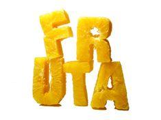No me toques las Helvéticas   Blog sobre diseño gráfico y comunicación: Food- Type Tipografía comestible