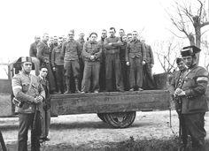 Brigadistas británicos prisioneros después de la batalla del Jarama