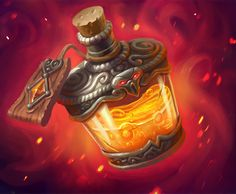 Card Name: Firebloom Toxin Artist: Izzy Hoover ★ Find more at… Fantasy Weapons, Fantasy Rpg, Medieval Fantasy, Magia Elemental, Magic Bottles, Game Props, Pathfinder Rpg, Potion Bottle, Bottle Art