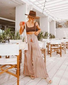 The Bohemian Lifestyle on Covetboard features an eclectic mix of bohemian decor and fabulous boho fashion. Covet bohemian fashion now on Covetboard. Cancun Outfits, Outfits For Mexico, Miami Outfits, August Outfits, Jamaica Outfits, Outfits With Hats, Boho Outfits, Cute Outfits, Fashion Outfits