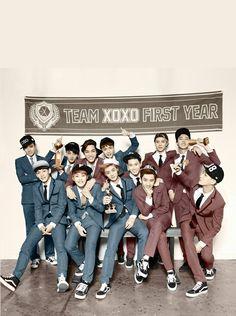 #exo #exom #exok #kai #luhan #xiumin #sehun #do #kris #tao #chanyeol #lay #chen #baekhyun #suho