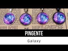 DIY   faça um colar galaxy sem gastar nada - YouTube