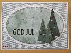 Jul med Simple and basic Winter Season, Diy And Crafts, Christmas Cards, Seasons, Fest, Holiday Decor, Simple, Inspiration, Tags