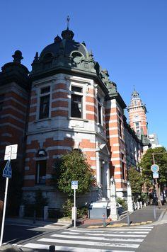 Yokohama memorial building (Yokohama kinen kan), Yokohama, Japan, built in 1917