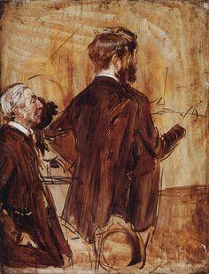 In the Studio. Giovanni Boldini