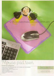Fofucha Mousepad Niña