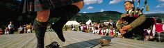 Sword dancing to the sound of bagpipes at the Ballater Highland Games, east of Braemar, Aberdeenshire, Scotland. Scottish Culture, Scottish Kilts, Scottish Highland Games, Scottish Highlands, Tours Of England, Campervan Hire, Single Travel, England And Scotland, Scotland Travel