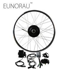 Free Shipping 48V 500W 8fun Bafang Brushless Gear Hub Motor front Wheel Electric Bike Conversion Kit Ebike
